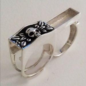 Skull Stash Ring